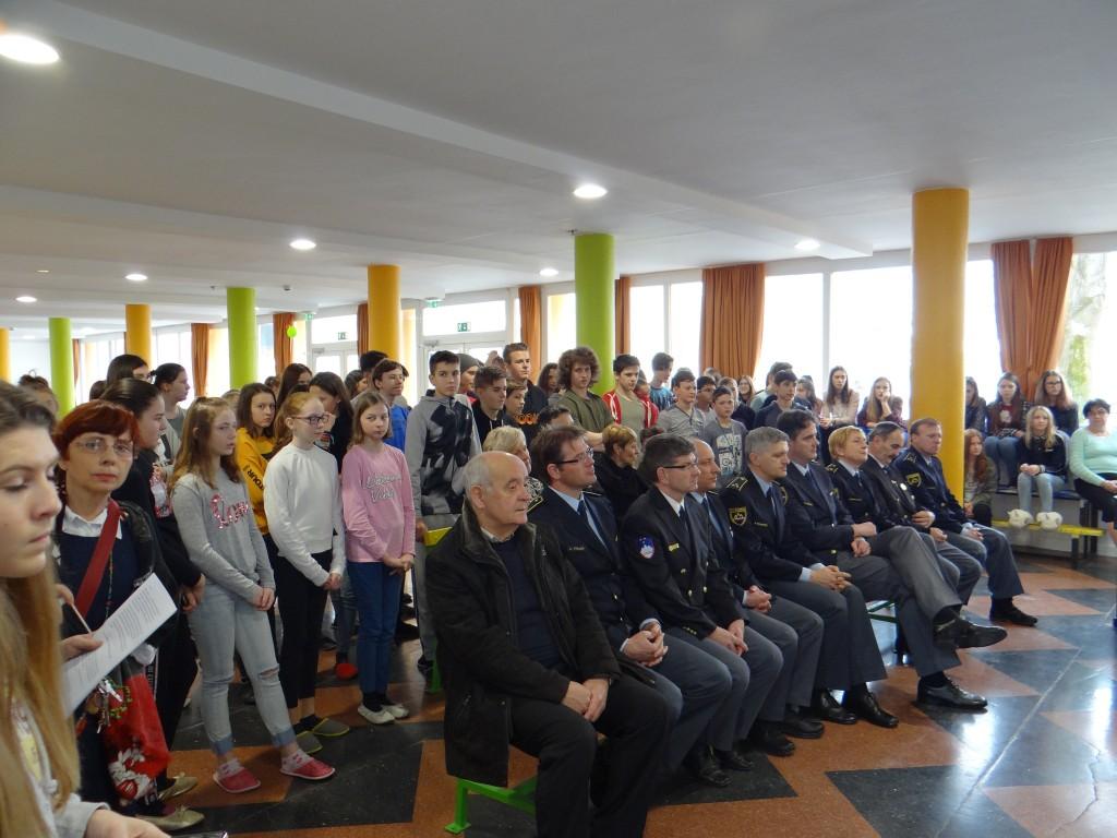 Odprtje razstave na OŠ Draga Kobala v Mariboru